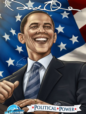 Political Power: Barack Obama Bio-Comic