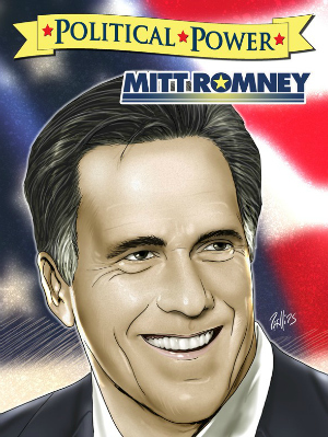 Political Power: Mitt Romney Bio-Comic