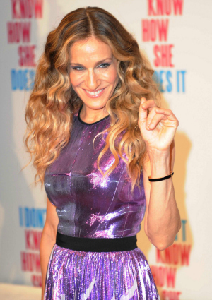 Sarah Jessica Parker at the Premiere of I Don't Know How She Does It