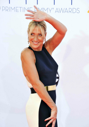 Edie Falco at the 64th Annual Primetime Emmy Awards