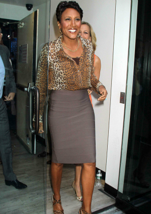 Good Morning America Host Robin Roberts Outside of the Studio