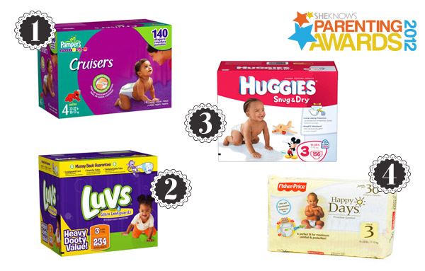 Parenting Awards finalists: Disposable diapers
