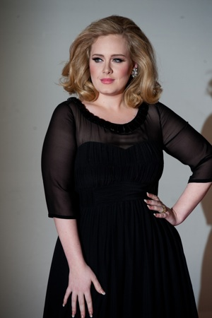 Adele in black