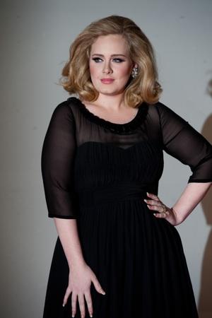Adele in black