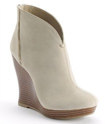 Jennifer Lopez Platform Wedge Booties