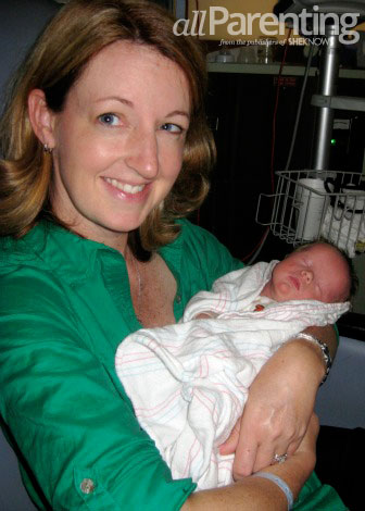 Charlie and mom in nicu