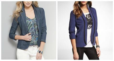 Cavallari blazers collage