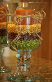 Easy and elegant centerpiece