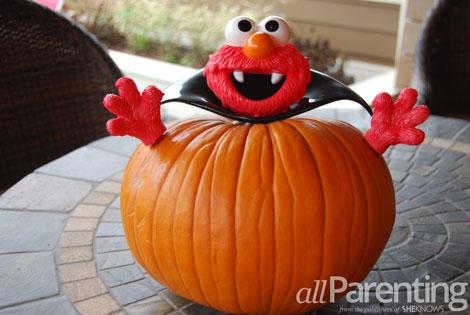 Elmo non-carve pumpkin