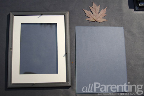 framed leaf materials
