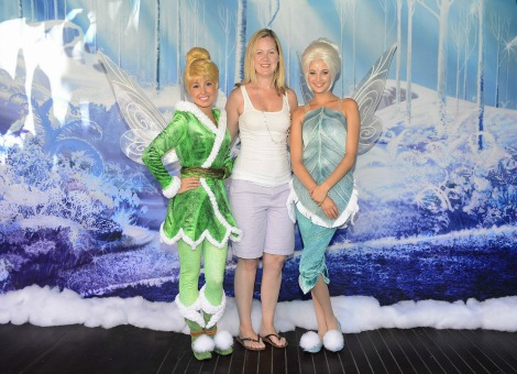 Nichole Beaudry with Tinkerbell and Periwinkle