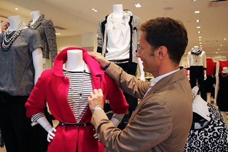 Andrew Taylor talks fall fashion at Ann Taylor