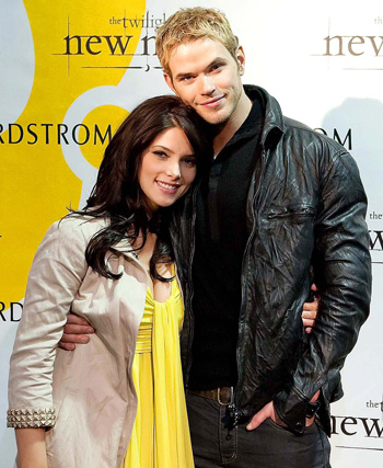 Ashley Greene with Kellan Lutz