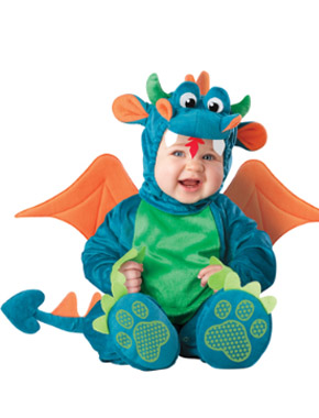 Dragon Halloween costume for babies