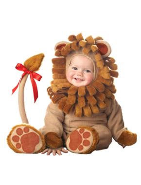 Lion Halloween costume for babies