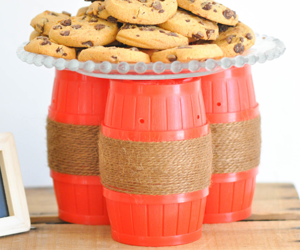 Barrel of monkeys | Sock monkey themed party