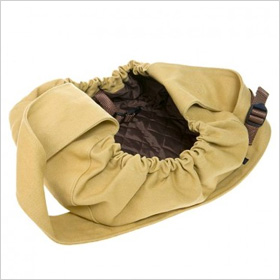 Canvas Messenger Pouch Dog Carrier