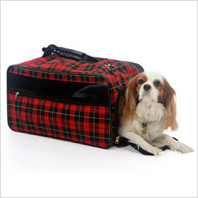 Bark-n-Bag Barkwell Classic Pet Carrier in Plaid