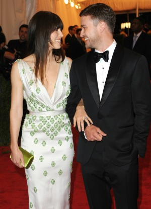 Jessica Biel Justin Timberlake wed
