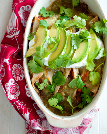 A guiltless way to enjoy mexican food