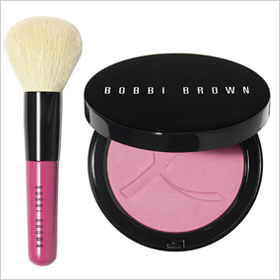 Bobbi Brown Pink Peony Set with Illuminating Bronzer in Pink Peony and mini face blender brush: $45.00