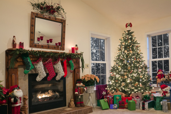 Going green with your holiday decorating Home decorating ideas for christmas holiday