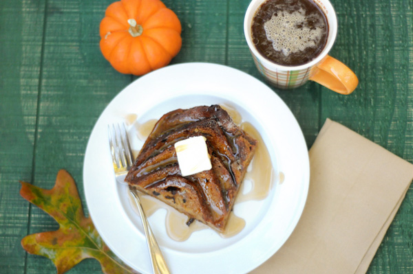 baked pumpkin french toast recipe
