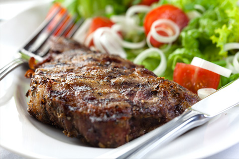 Mealtime Makeover Healthier Steak And Potato Dinner