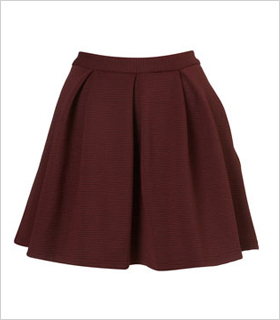 Oxford Pleated skirt