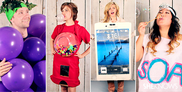 The jackpot of easy and creative Halloween costume ideas to make at home