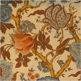 tree of life patterned fabric