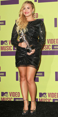 Demi Lovato at 2012 MTV Music Video Awards