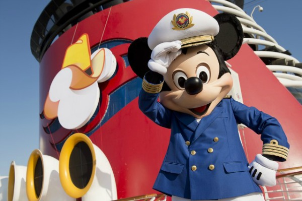Disney Cruise leaving Galveston