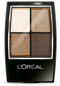 L'Oreal eyeshadow palette in Earthscape