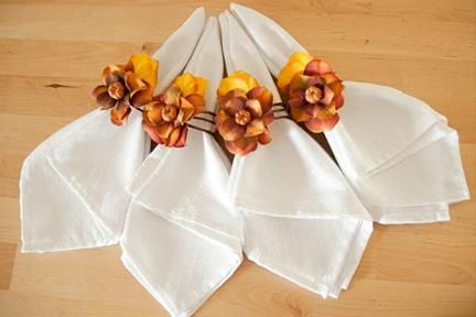 Autumn napkin rings