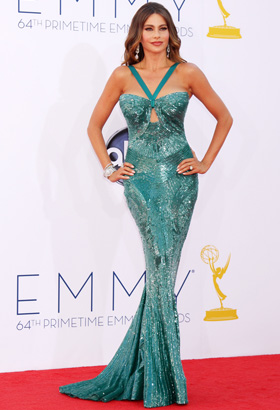 Sofia Vergara's emmy 2012 look