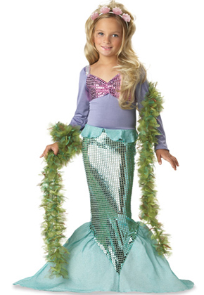 Mermaid Halloween Costume