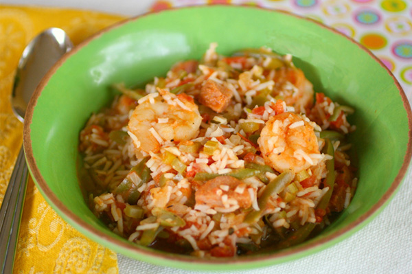 Gluten-free Friday: Easy sausage and shrimp gumbo