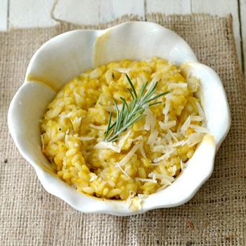 Butternut squash risotto