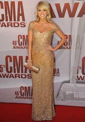 Carrie Underwood -- 2011 CMA