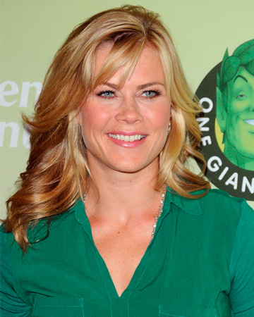 Alison Sweeney at Green Giant event