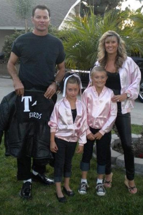 Grease family Halloween Costume