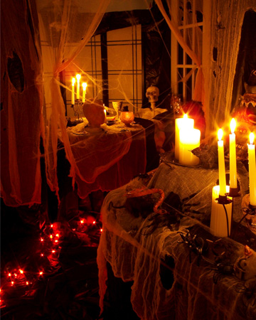 Homemade halloween party decorations Scary halloween decorating ideas inside