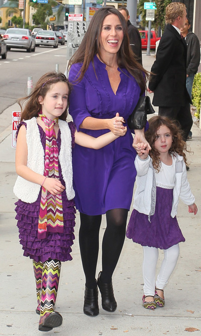 Soleil Moon Frye and daughters