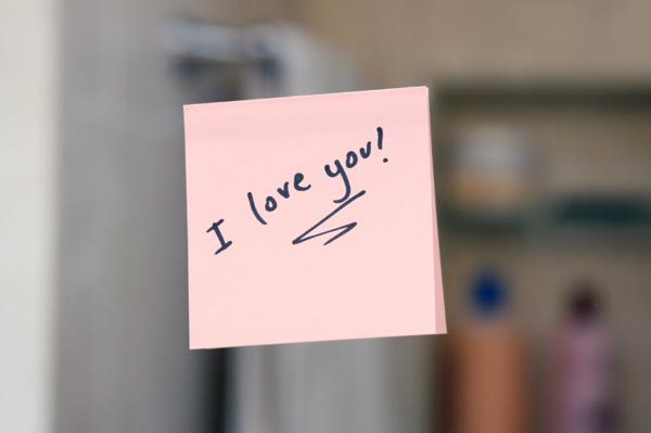 I love you Post-it