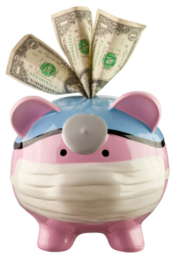piggy bank for healthcare
