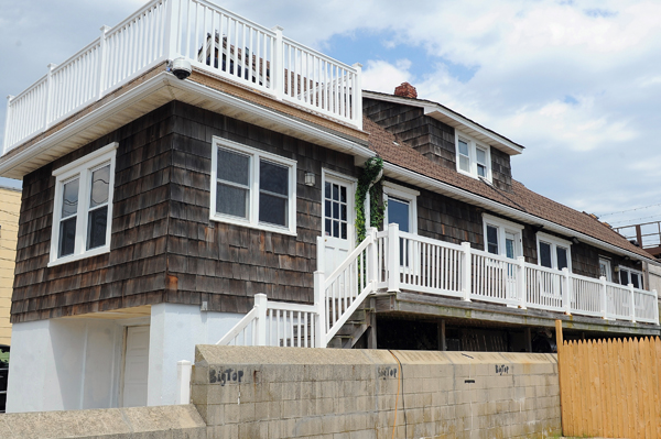 Hurricane Sandy spared the Shore house