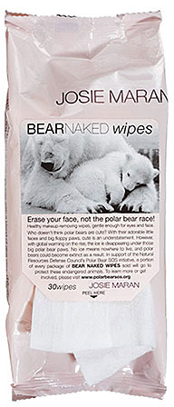 Josie Maran's Bear Naked Wipes