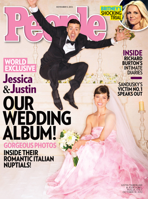 Justin Timberlake Jessica Biel wedding photo People