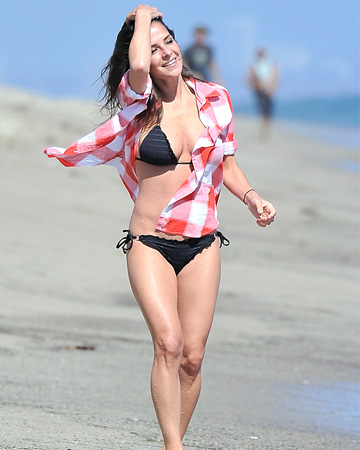 Kelly Monaco in bathing suit